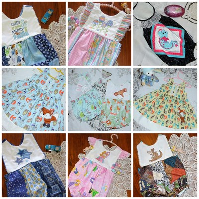 Lindy Lou Kidsworld Sample Products