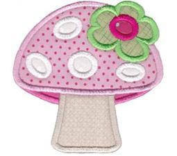 Mushroom 1 Applique