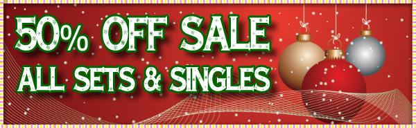 December 50% off sale