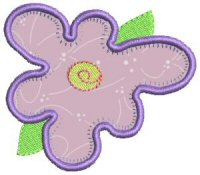 Funky Flowers Applique