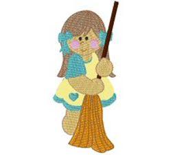 Broom Girl
