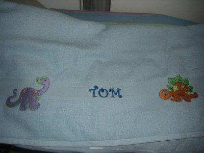 Florences Dino-Rawhs Towel