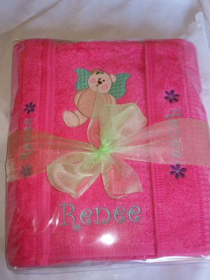 Samanthas Fairy Bear Towel Set