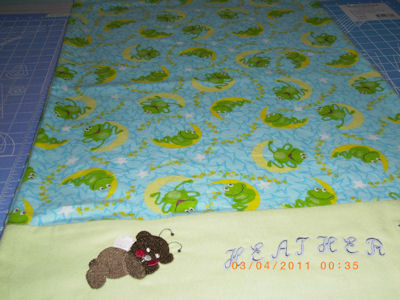 Dawns Fairy Bear Pillow Case