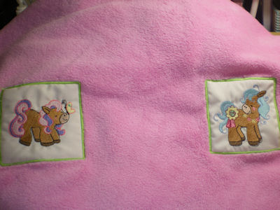 Honeys Pretty Ponies Blanket