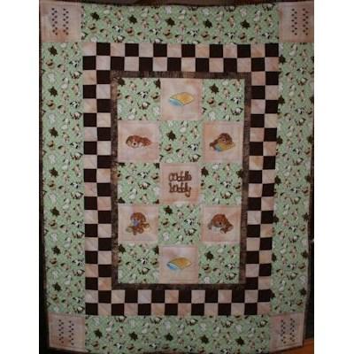 Diane Floppy Dog Quilt