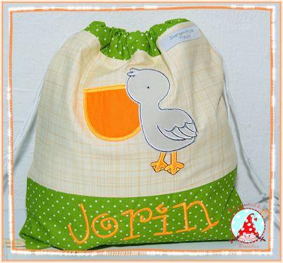 Fran Sea Creatures Too Applique Bag