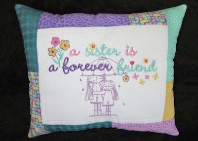 Lyn Forever Friends Cushion