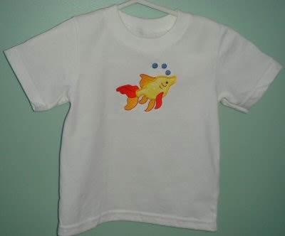 Cathys Sweet Applique Animals T-Shirt
