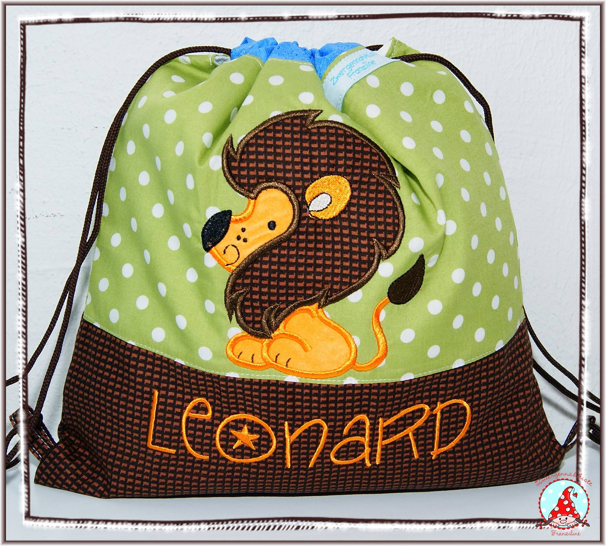 Fran Sweet Applique Animals Three Bag Aug 16