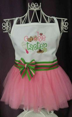 Barbara Cookie Taster Apron