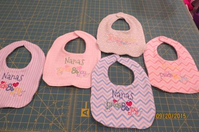Colleen Dear MYO Bibs