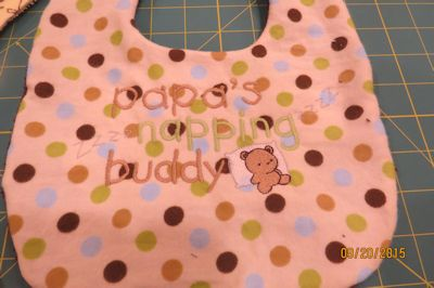 Colleen Dear Grandpa Bib