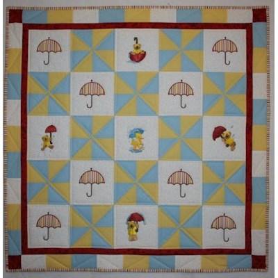 Daine Rainy Day Bears Quilt