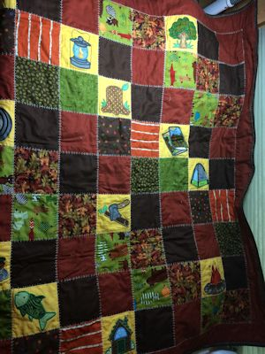 Elisa Camping Quilt