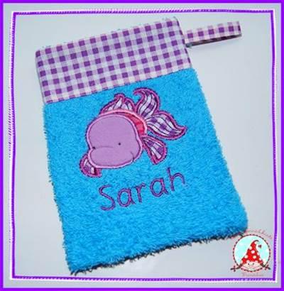 Frans My Pet Applique Washcloths Dec 15