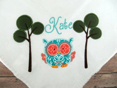 Kate Forest Animals Applique Dec 15