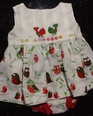 Rosemary Animal Minis Christmas Dress