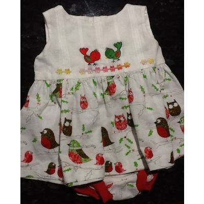 Rosemary Animal Minis Christmas Dress
