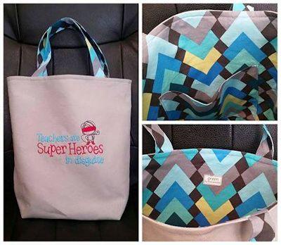 Laura Dear Teacher Bag
