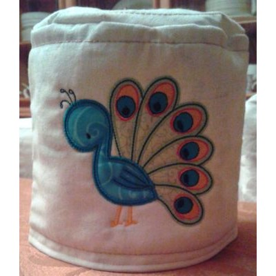 Mindy Tweeth Thing Applique Toilet Paper Cover