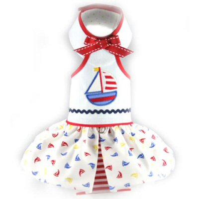 Desiree Nautical Doggie Outfits
