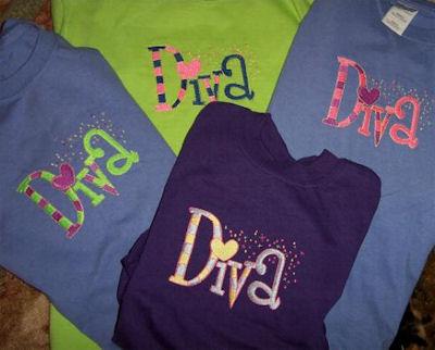 Jeannes Diva Shirts