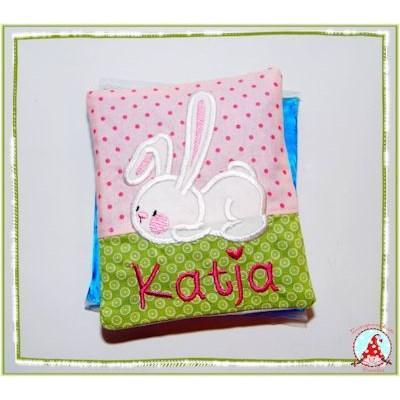 Fran Snuggle Bunny Applique Ice Pack Mar 16