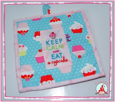 Fran Keep Calm Pot Mat May 17
