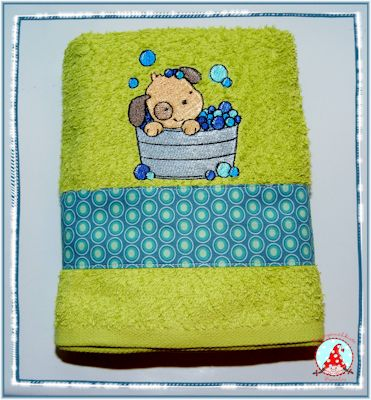 Fran Splish Splash Towel May 17