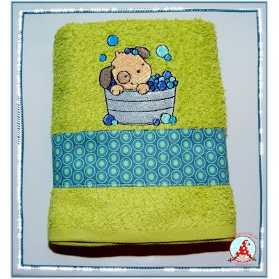 Fran Splish Splash Towel May 17