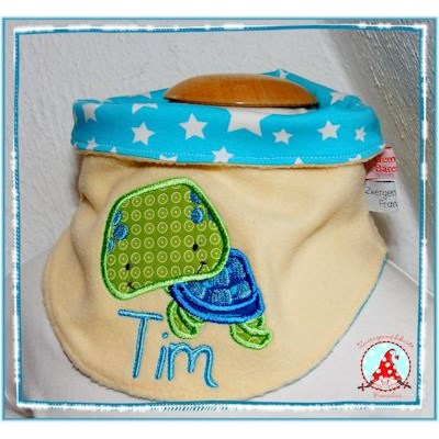 Fran Ocean Creatures Applique Neck Kerchief May 17