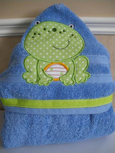 Lyns My Pet Hooded Towel