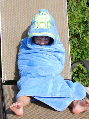 Lyns My Pet Hooded Towel