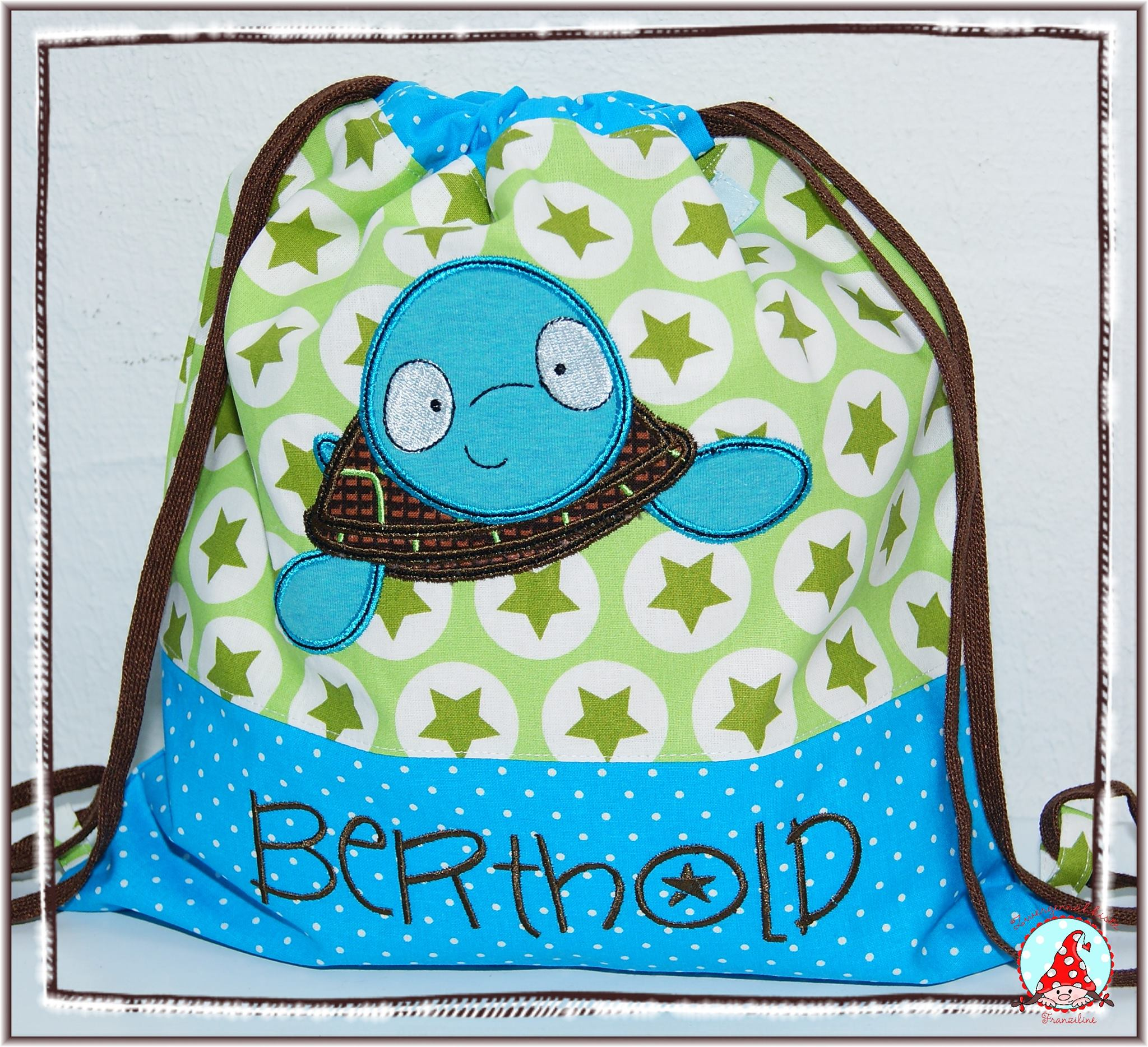 Fran Sea Creatures Too Applique Bag Oct 16