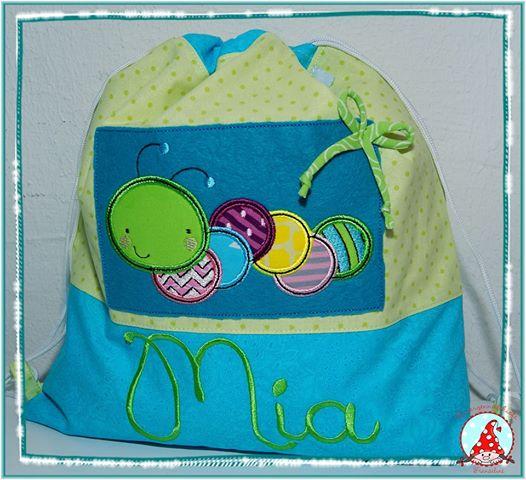 Fran Cuddle Bug Applique Bag Oct 16