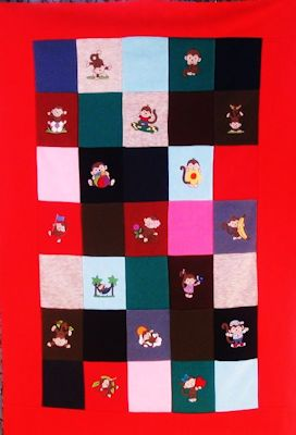 Margaret Monkeying Around Quilt Oct 16