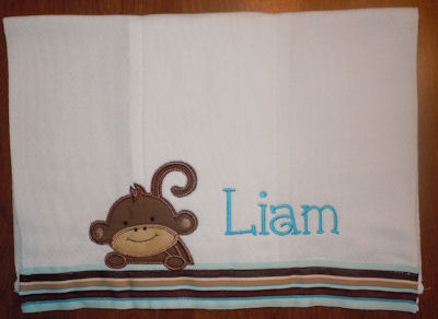 Kims Monkey Friends Applique Blocks