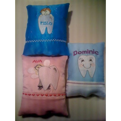 Susies Tooth Fairy Pillows