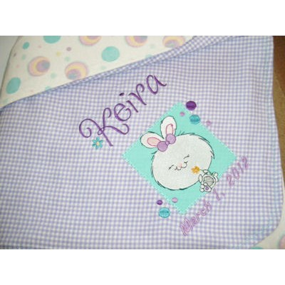 Lyns Cuddle Me Critters Too Baby Blanket