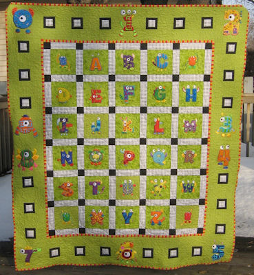 Brendas Monster Mash Quilt