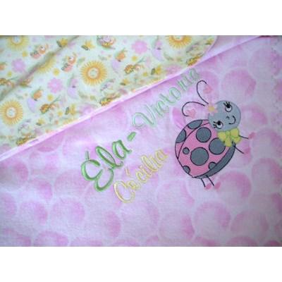 Lyns Snug as a Bug Blanket