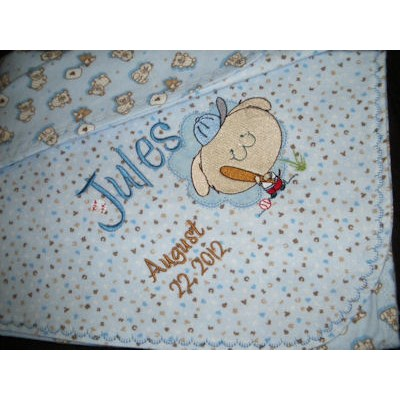 Lyns Cuddle Me Critters Too blanket