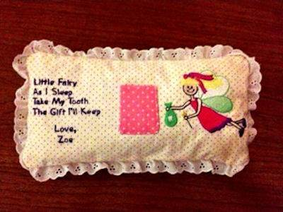 Norma Tooth Fairy Pillow