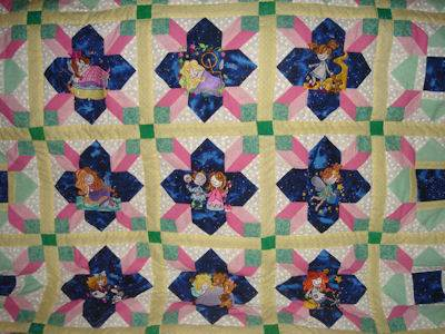 Judy Fairy Tales Quilt