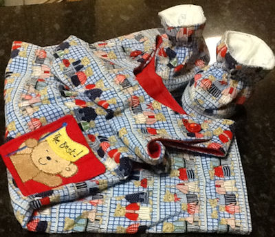 Rosemary Cuddle Bear Overalls