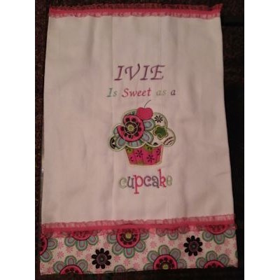 Gertrude Sweet Thing Applique Towel