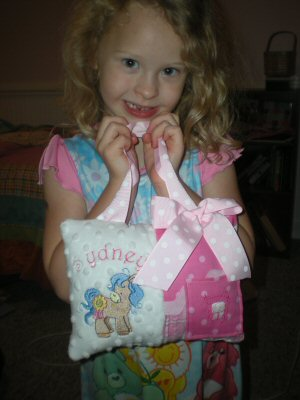 Anitas Tooth Fairy Pillow