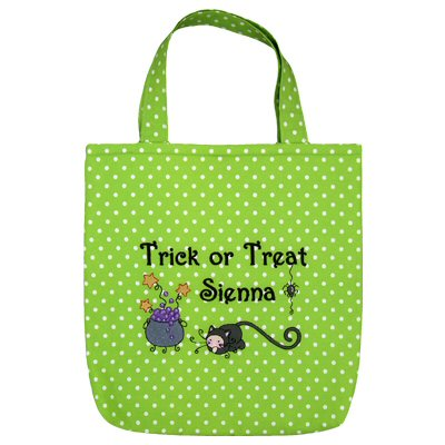 Jackies Bubba Boo In Halloween Too Tote Bags