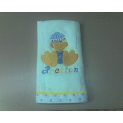 Ambers Baby Quack Ups Burp cloth